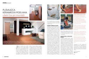 thumbnail of Článok časopis Dom a Bývanie