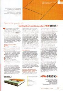 thumbnail of Článok časopis Styl