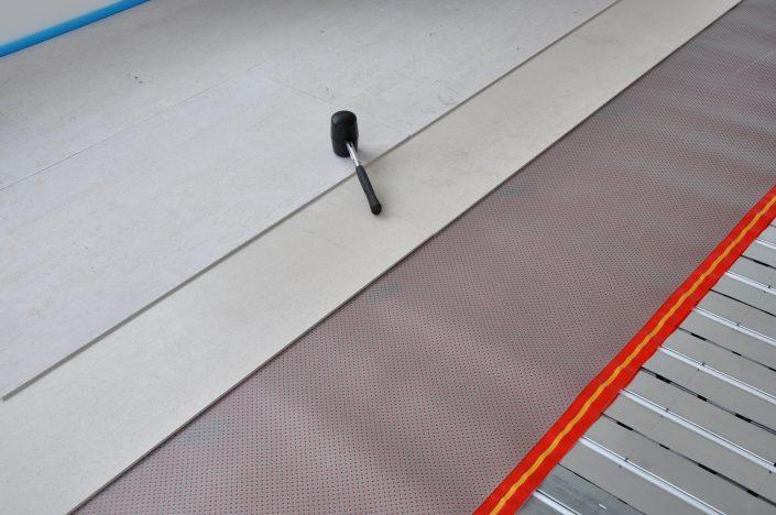 Jumpax podlaha - montaž